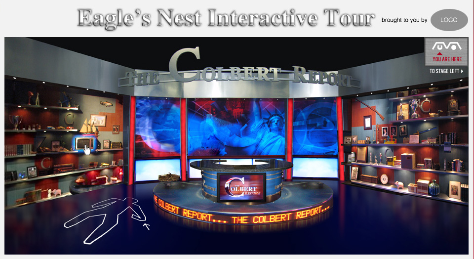 The Colbert Report Eagle's Nest Interactive Tour