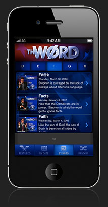 The WØRD for iPhone