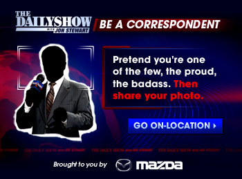The Daily Show – Be A Correspondent