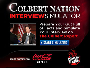 The Colbert Report Interview Simulator