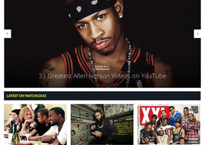 WatchLoud Website